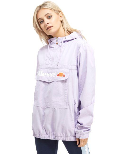 Ellesse   Purple Half Zip Jacket   Lyst