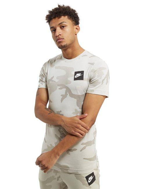 Nike | White Camo Aop T-shirt for Men | Lyst