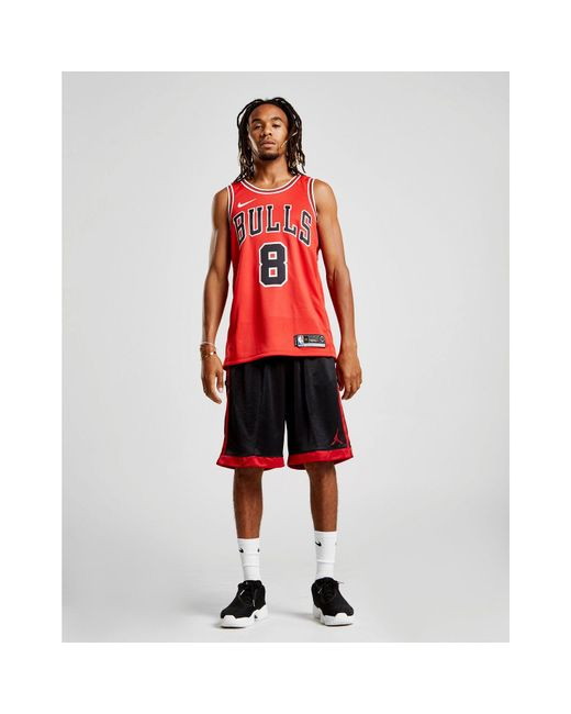 ... Nike - Red Nba Chicago Bulls Swingman Lavine Jersey for Men - Lyst ... 0034b518c