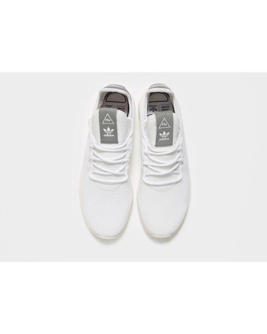 45eaf400c6dbf ... Adidas Originals - White X Pharrell Williams Tennis Hu for Men - Lyst  ...