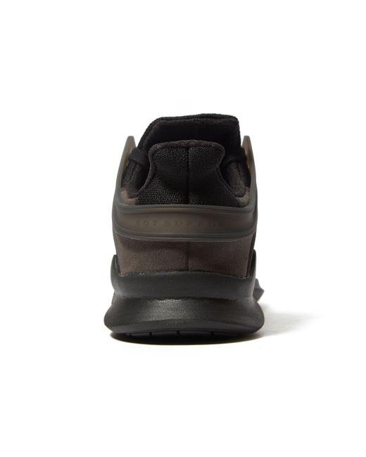 Lyst adidas originali eqt appoggio avanzata in nero per gli uomini.