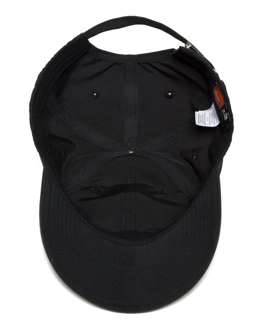 ... Nike - Black Side Swoosh Cap for Men - Lyst ...