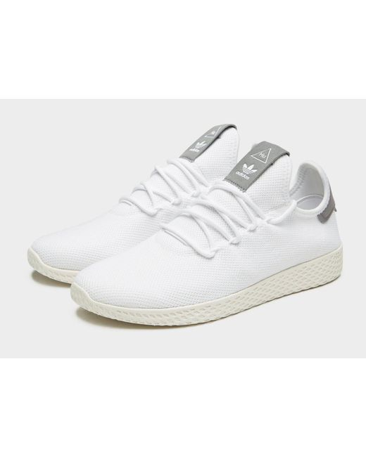 7db7e2feb ... Adidas Originals - White X Pharrell Williams Tennis Hu for Men - Lyst  ...