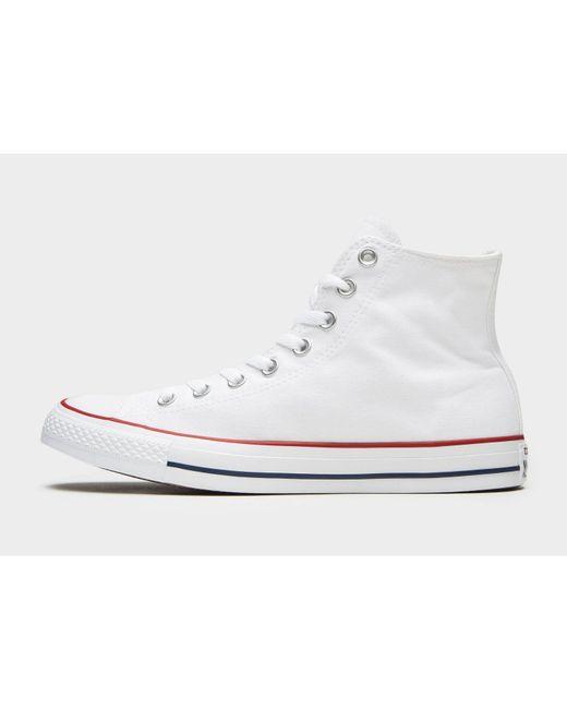 18f26647b6c6 Converse - White Chuck Taylor All Star Hi for Men - Lyst ...