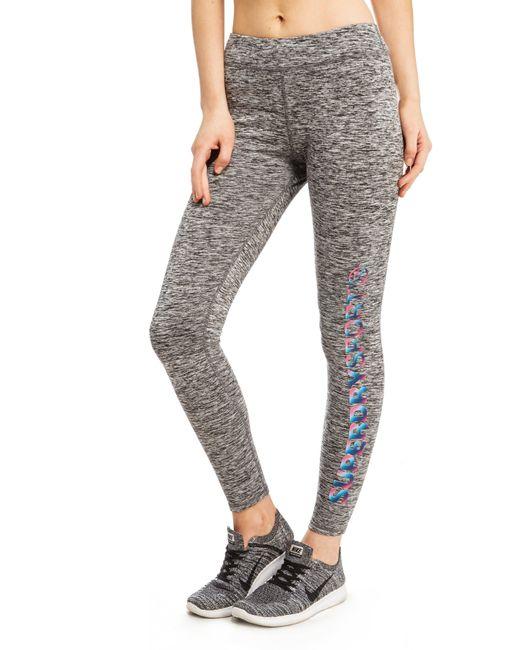 Superdry - Gray Core Gym Leggings - Lyst