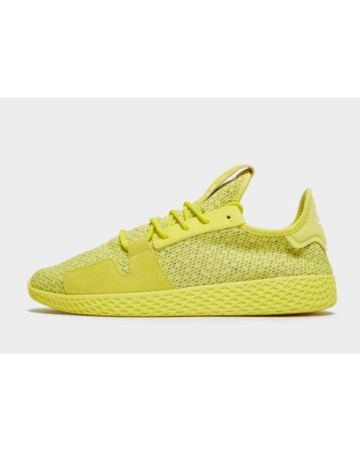 b62ce583dcacb Adidas Originals - Yellow X Pharrell Williams Tennis Hu V2 for Men - Lyst  ...