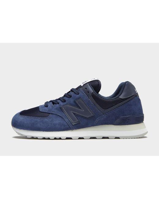 New Balance - Blue 574 for Men - Lyst