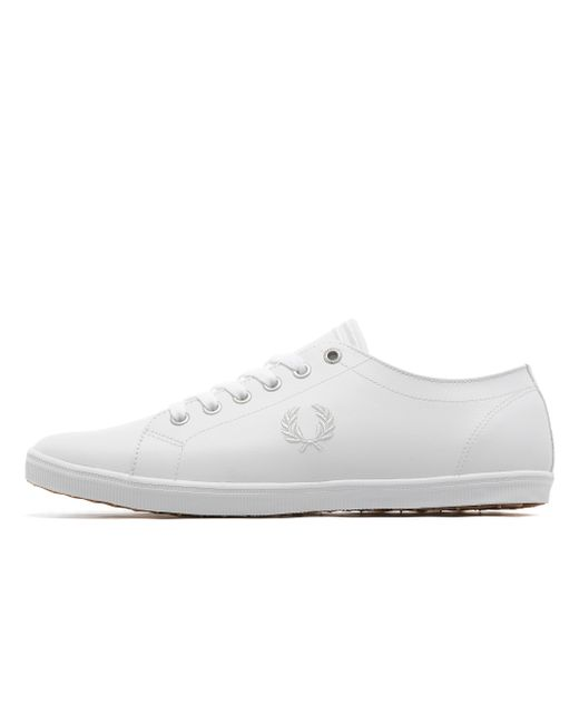 Fred Perry | White Kingston Leather for Men | Lyst