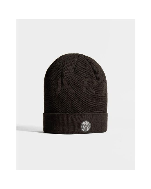 c68a8f31e5f4d ... Nike - Black X Paris Saint Germain Beanie Hat for Men - Lyst ...