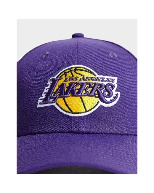 87b635925b5 ... KTZ - Purple Nba Los Angeles Lakers 9forty Cap - Lyst ...