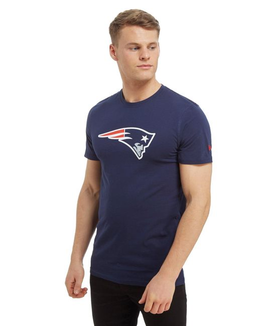 KTZ - Blue Nfl New England Patriots T-shirt for Men - Lyst