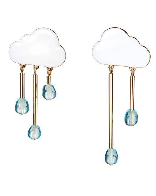 Jenny Bird - Metallic Chance Of Rain Earrings - Lyst