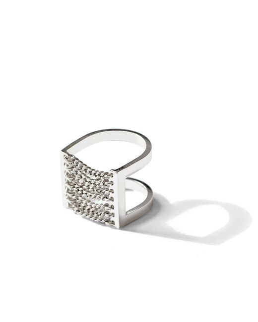 Jenny Bird | Metallic Canopy Ring | Lyst