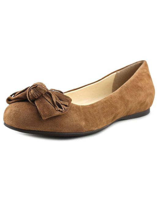 Jessica Simpson - Brown Madian Ballet Flat - Lyst