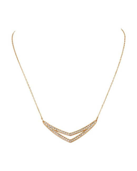 Swarovski | Metallic Alpha Medium Necklace 5210287 | Lyst