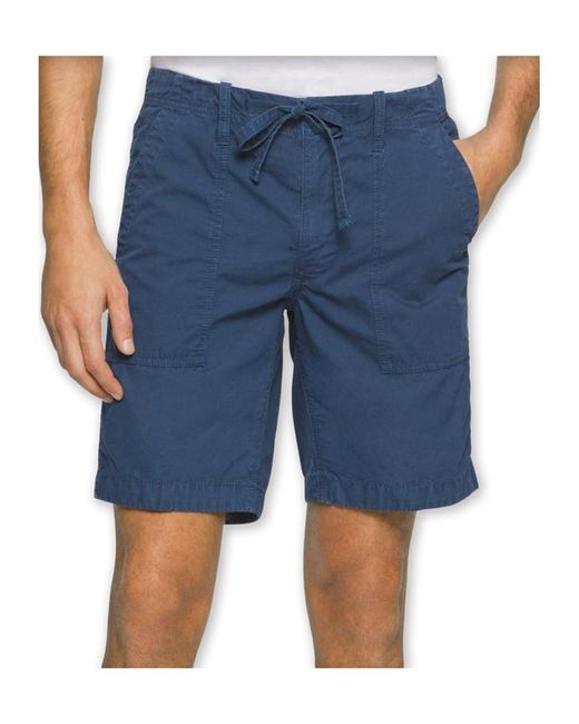 Calvin Klein - Mens Faded Poplin Casual Walking Shorts Insigniablue 36 for Men - Lyst