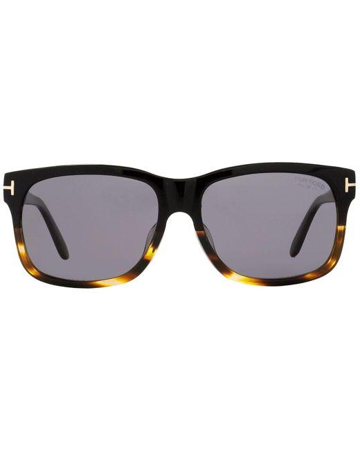 72d70333d1 ... Tom Ford - Black Ft0376 Barbara Rectangular Sunglasses - Lyst ...