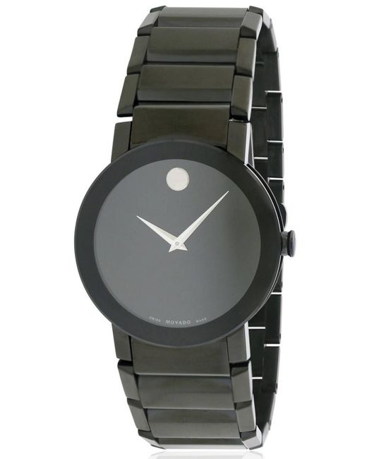 Movado - Black Sapphire Watch 0606307 for Men - Lyst