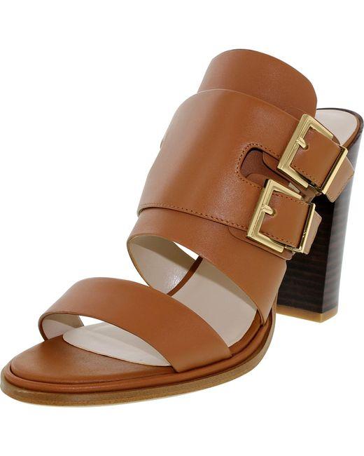 Kenneth Cole   Brown Kenneth Cole Salem Cognac Low Top Leather Sandal   Lyst
