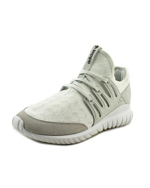 e325b820ea65 ... promo code for adidas tubular radial men us 12 white sneakers for men  lyst 9899f a5d5d