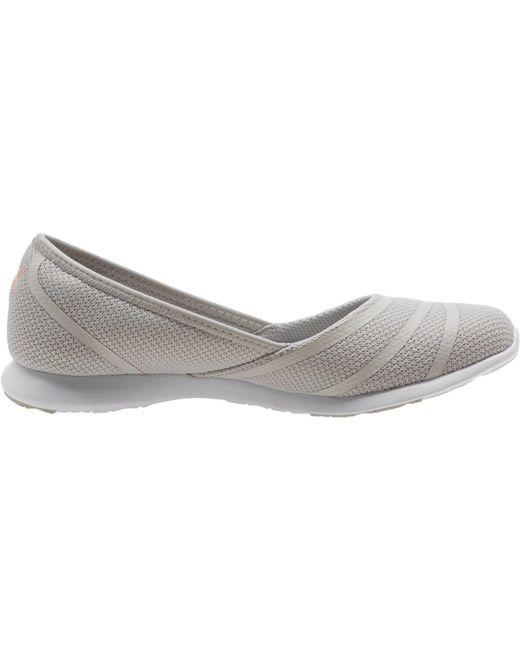 ... PUMA - Gray Vega Ballet Sweet Shoe - Lyst ... b8c594931