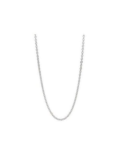 Pandora - Metallic Authentic Liquid Silver Chain In 925 Sterling Silver - Lyst
