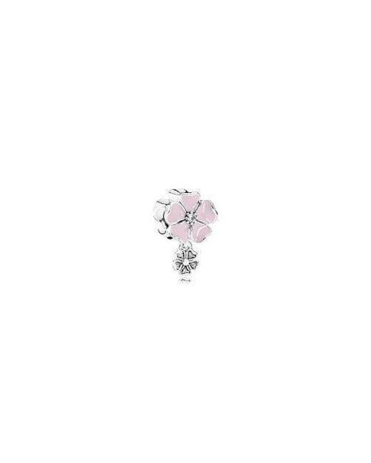 Pandora | Poetic Blooms Pink Charm791827en40 | Lyst