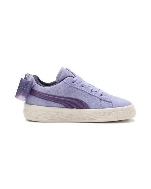 9f6586b75232 ... PUMA - Blue Suede Jelly Bow Ac Sneakers Inf Unisex Baby - Lyst ...