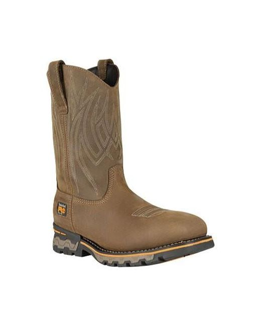 73dbb04dab6 Timberland - Brown Pro Ag Boss Waterproof Square Alloy Safety Toe Boot for  Men - Lyst