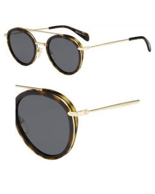 9802d819af1 Céline - Metallic 41424 s Ant Dark Havana Gold 41424 s Round Sunglasses Lens