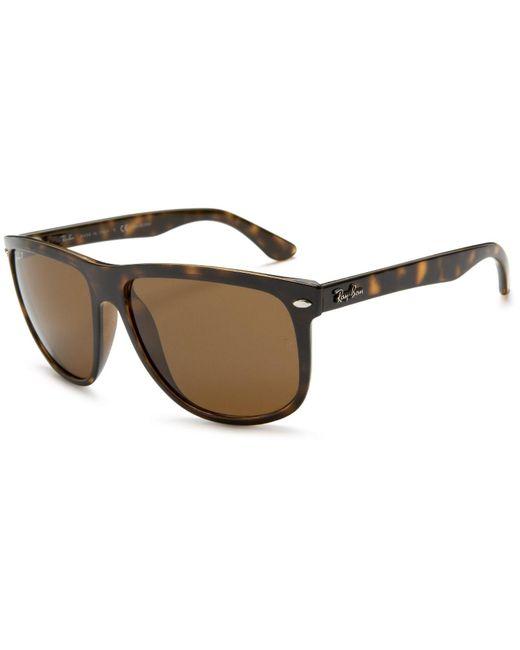 Ray-Ban | 0rb4147 710/57 60 Light Havana/crystal Brown Polarized Highstreet Sunglasses for Men | Lyst