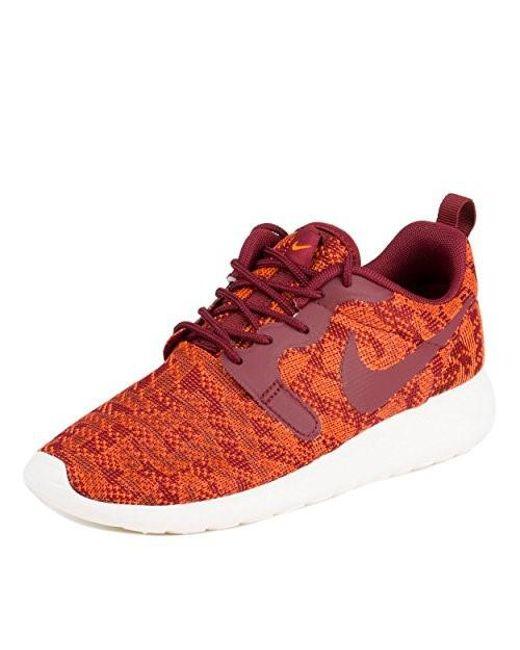 41663876b4c2c ... low price nike roshe one kjcrd total orange team red sail running shoe  7 women 3a005 ...