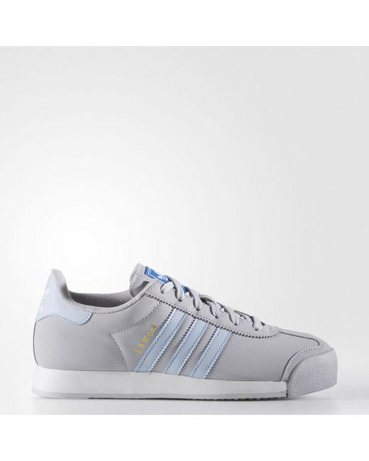 ... Lyst Adidas Samoa Shoes in Gray Adidas Gray Samoa Shoes Lyst Source · ADIDAS  Samoa Womens Shoes BLACK Adidas Samoa shoes 291521 GTKNOBU 16a2d97eb