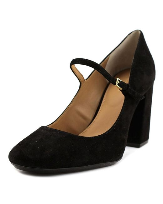 Calvin Klein - Cassian Women Open Toe Suede Black Platform Heel - Lyst