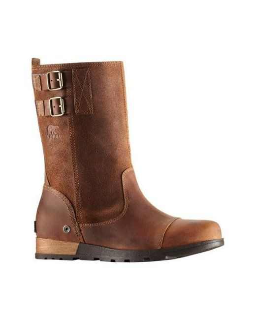 Sorel | Brown Major Pull On Boot | Lyst