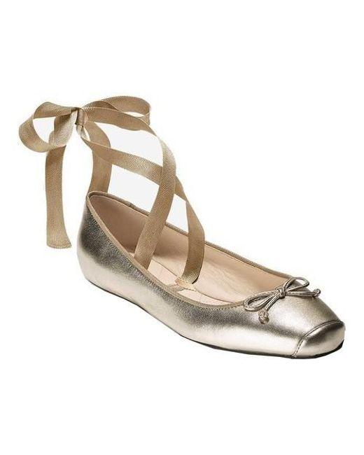Cole Haan - Metallic Downtown Ballet - Lyst