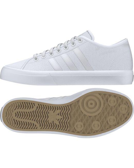 quality design 49f41 ee180 ... Adidas - White Matchcourt Remix Shoes for Men - Lyst ...
