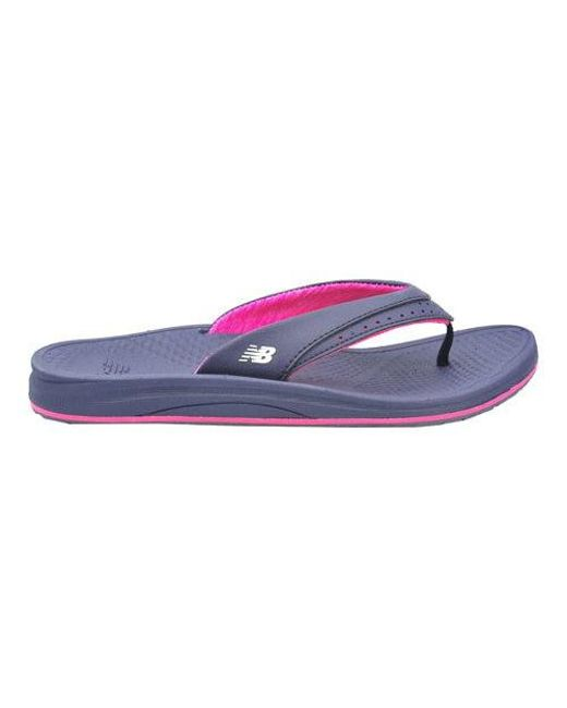 New Balance Renew Thong(Women's) -Navy/Pink Synthetic/Mesh Liner Outlet Official v7GaZ