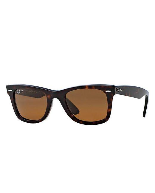 Ray-Ban - Brown Rb2140 Original Wayfarer Sunglasses - Lyst
