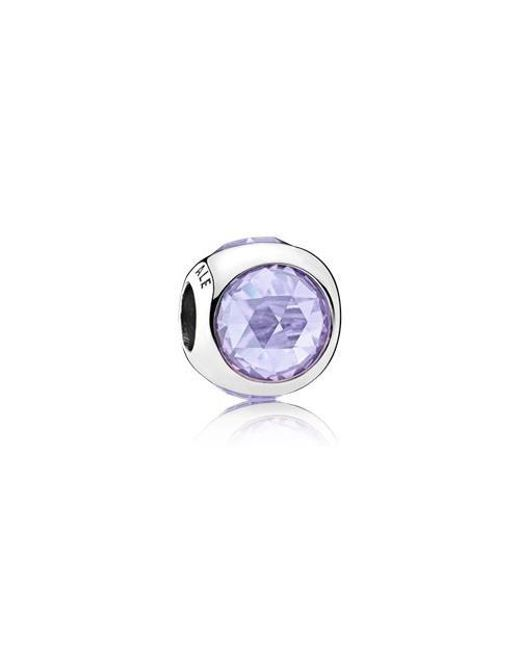 Pandora | Multicolor Lavender Radiant Droplets Charm | Lyst