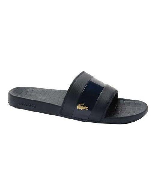 550623661 Lyst - Lacoste Frasier Slide Sandal in Blue for Men - Save 13%