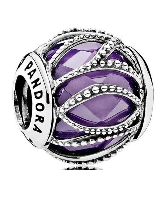 Pandora - Purple Intertwining Radiance Charm - 791968acz - Lyst