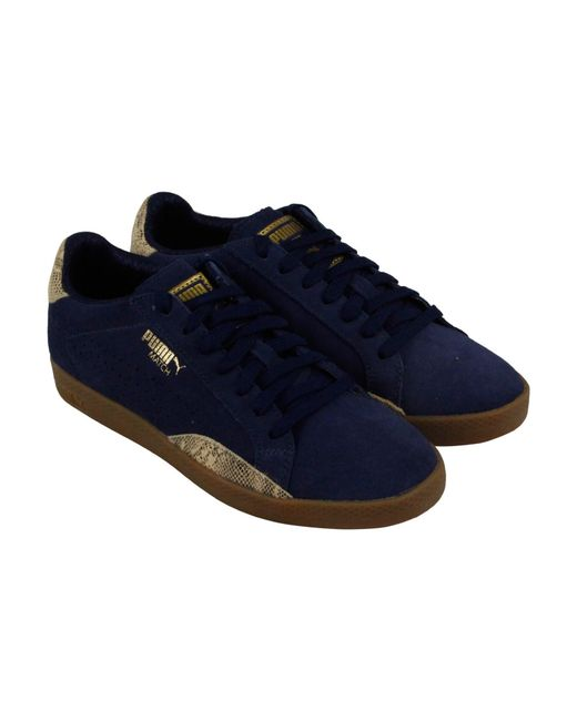 PUMA - Multicolor Match Lo S Snake Shoes - Lyst