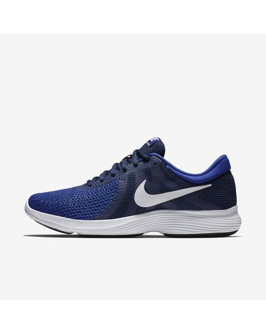 60f16536b33cf Lyst - Nike Revolution 4 Running Shoe in Blue for Men - Save 4%