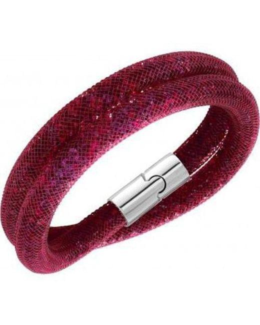 Swarovski | Multicolor 5139748 Stardust Double Ruby Bracelet | Lyst