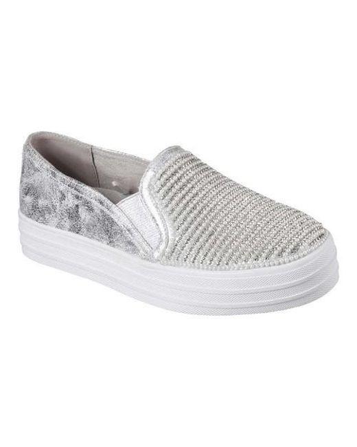 Skechers Double Up Diamond Dancer Slip-On Sneaker (Women's)