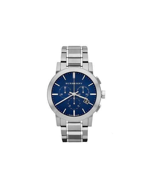 Burberry | Blue Bu9363 City Stainless Steel Watch for Men | Lyst