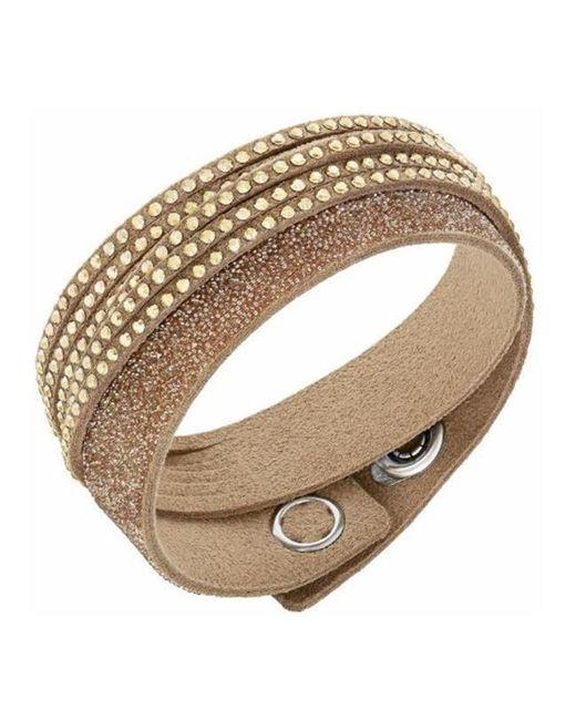 Swarovski - Metallic 5153243 Slake Duo Gold Bracelet - Lyst