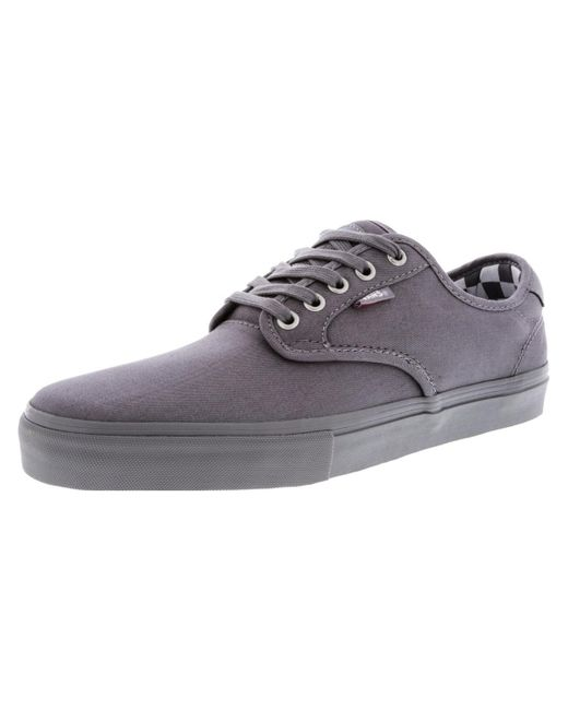 Vans - Gray Chima Ferguson Pro Mono Ankle-high Canvas Skateboarding Shoe - 9m for Men - Lyst