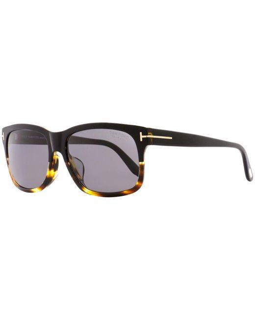 fb47c8d114 Tom Ford - Black Ft0376 Barbara Rectangular Sunglasses - Lyst ...